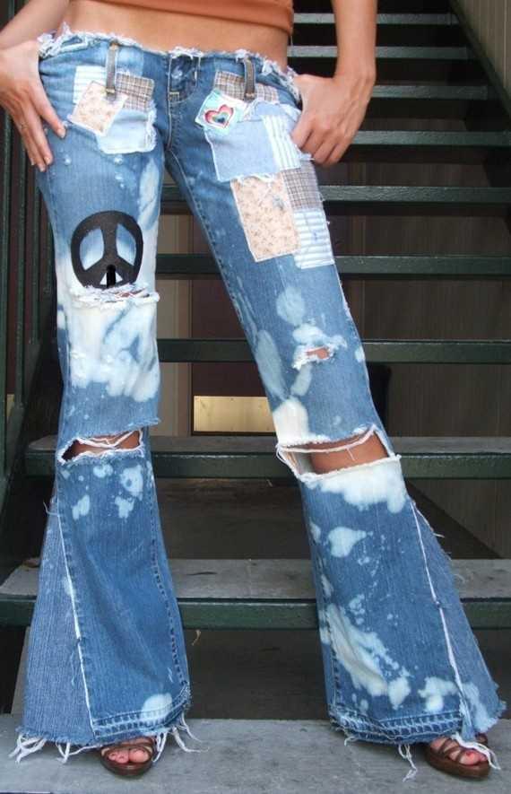 стиль хиппи в одежде фото