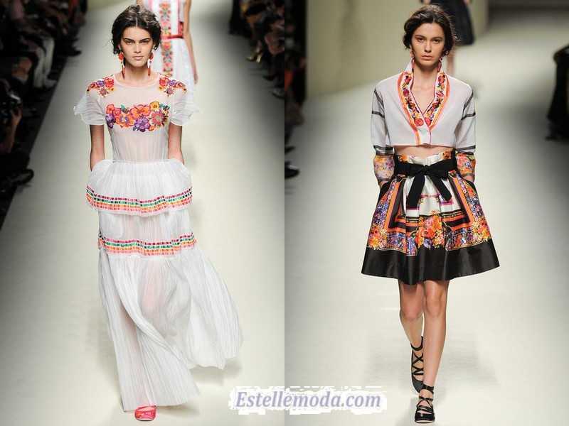 этнический стиль от известных дизайнеров