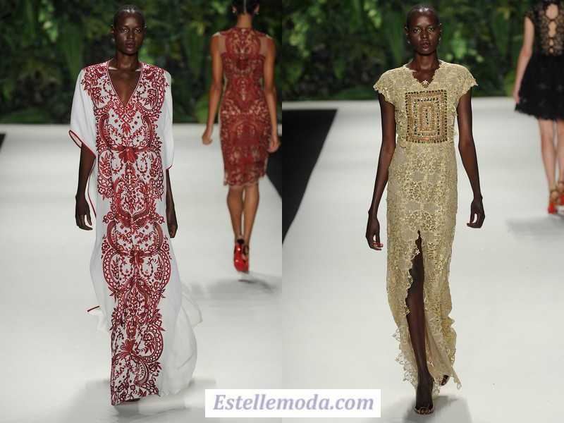 этнический стиль в одежде 2018