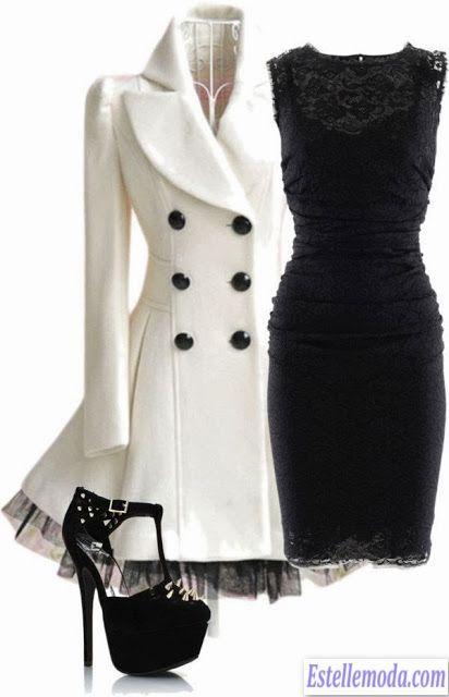 стили в одежде - французский