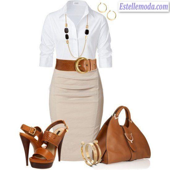 стили в одежде - офисный