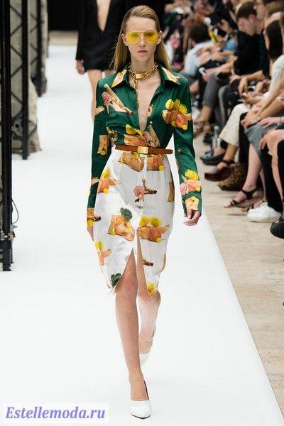 модные платья весна лето 2015 фото