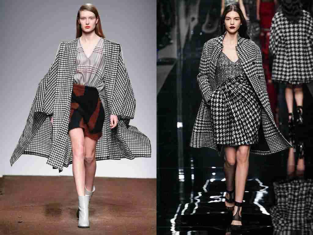 Принт клетка - модные осенью 2019