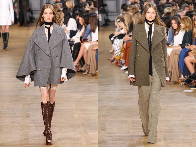модные пальто осень 2015 фото