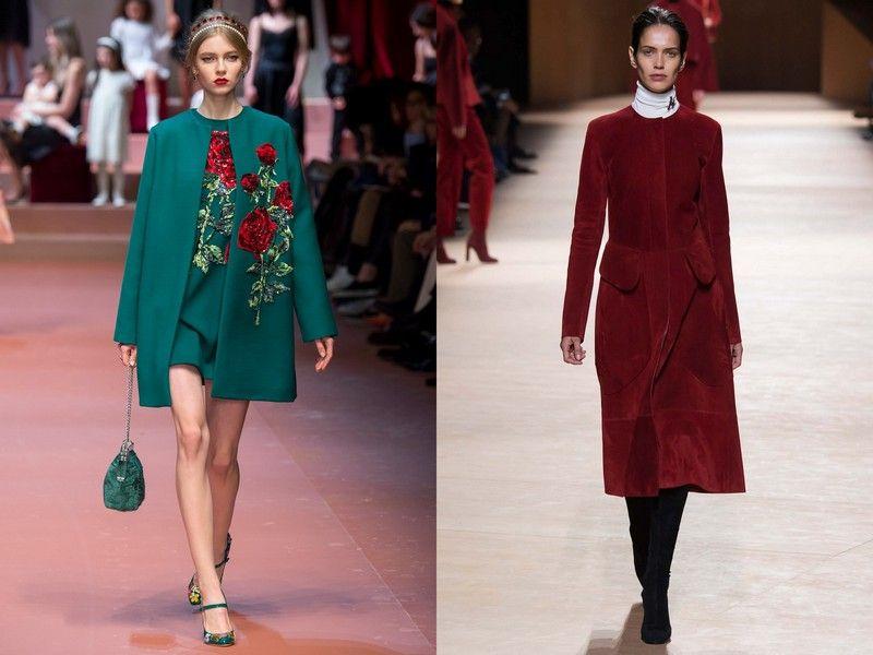 Самый модный цвет пальто