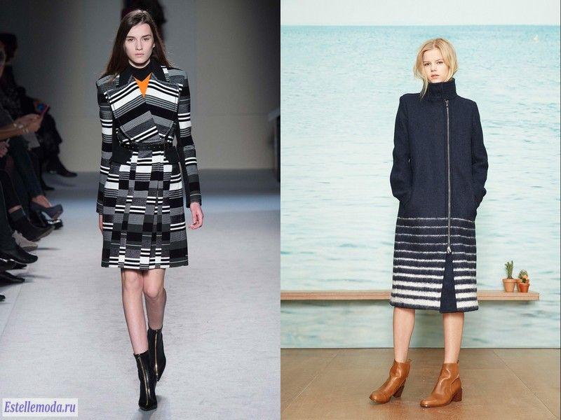 модные пальто осень зима 2015 2016 фото
