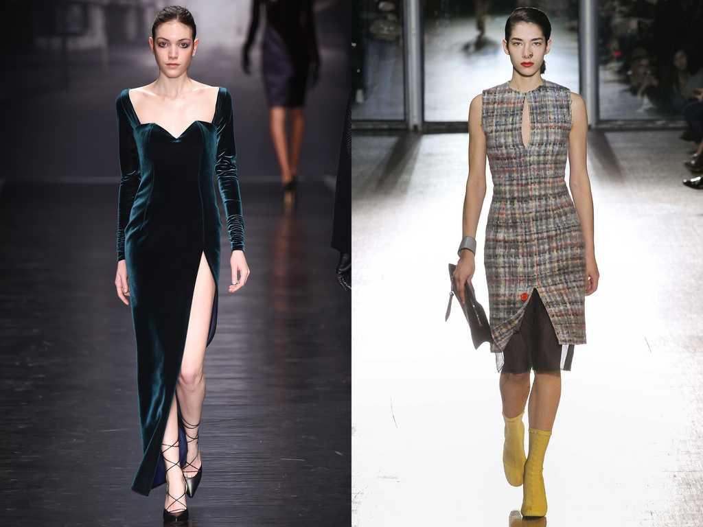 модные платья осень зима 2015 2016 фото