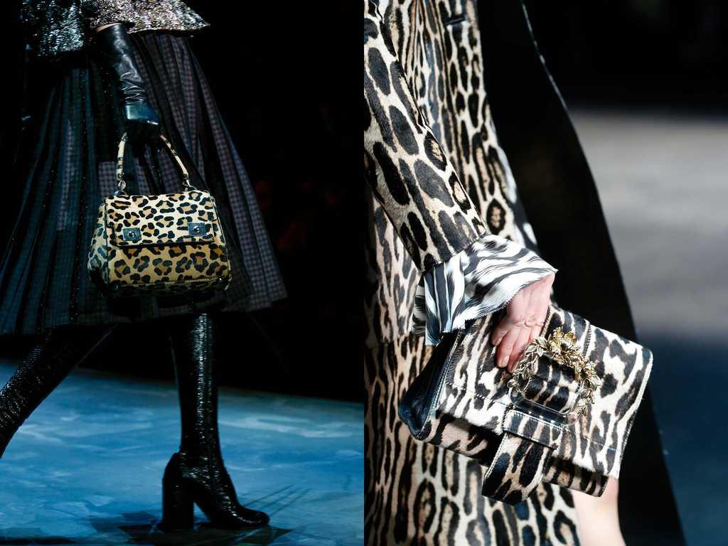 сумки с леопардовым принтом - тренд 2019-2020