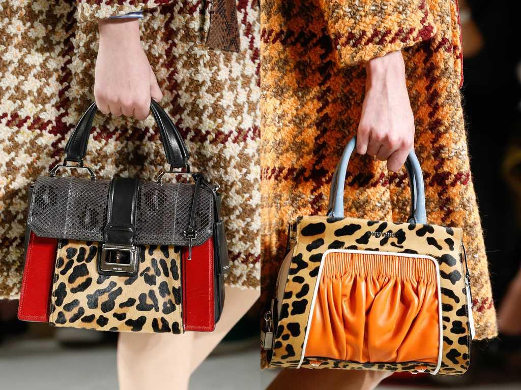 сумки с животным принтом