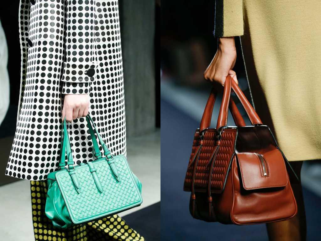 сумки на ручке для женщин 2019-2020