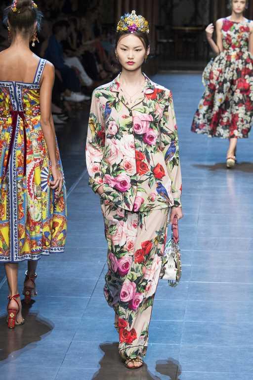 Коллекция Dolce & Gabbana весна-лето 2016 фото