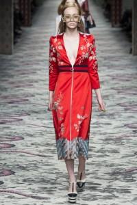 коллекция гуччи весна лето 2016 платья