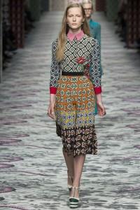 модные тенденции весна лето 2016 платья гуччи