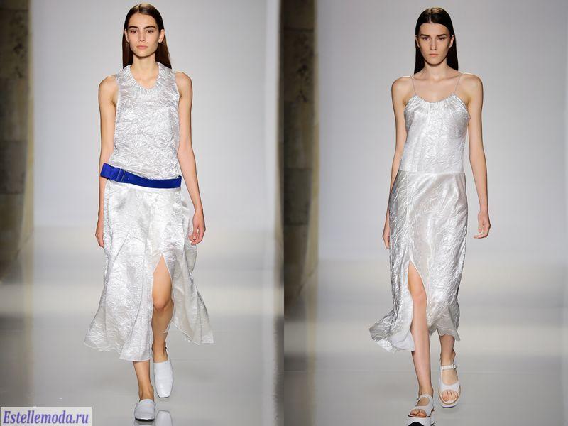 модные мятые ткани в 2019 году, фото