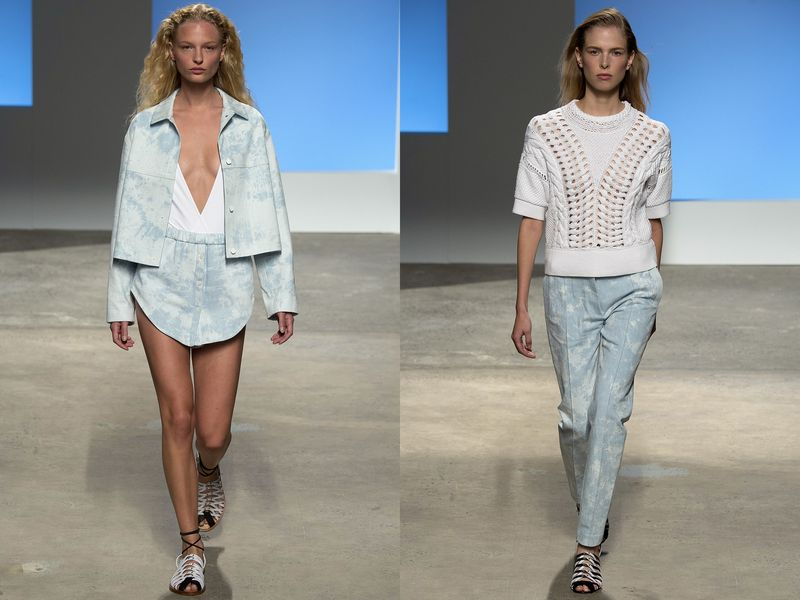джинсы 2019 года, модные ткани, фото