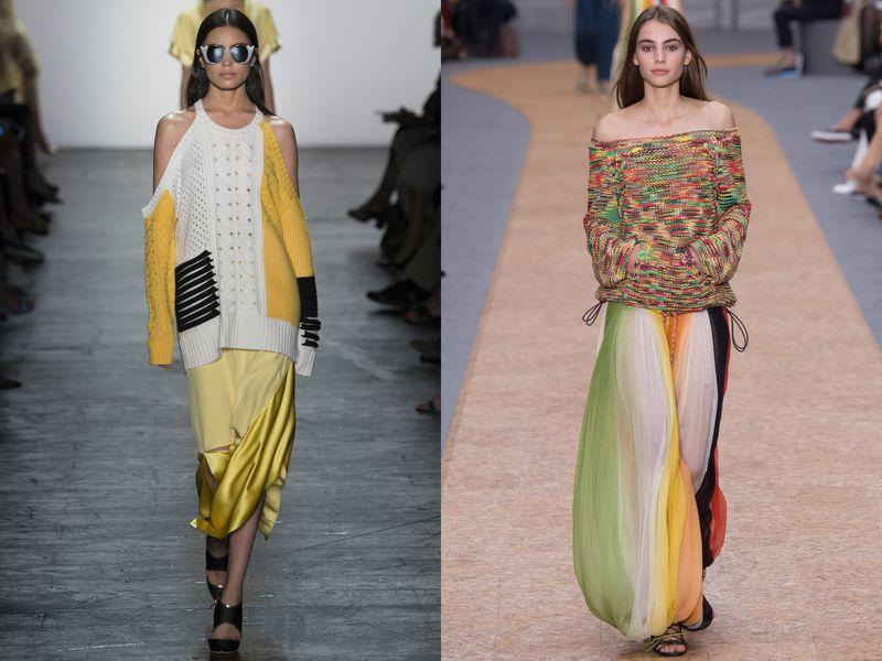 модные ткани весна 2019, фото