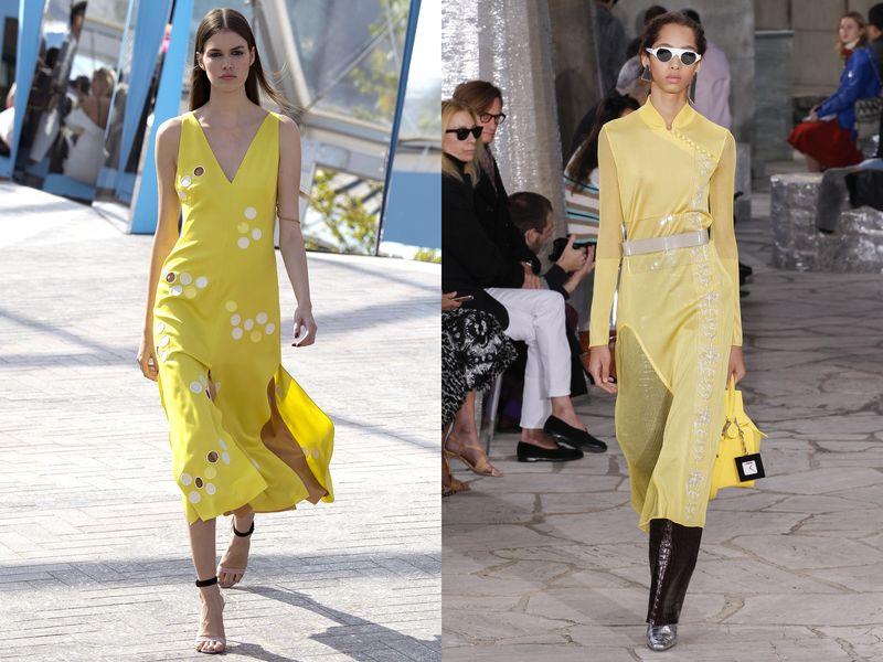 модные платья весна лето 2019 фото