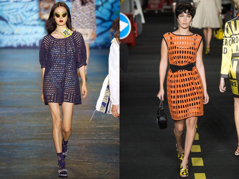 модные платья весна лето 2016 фото женские