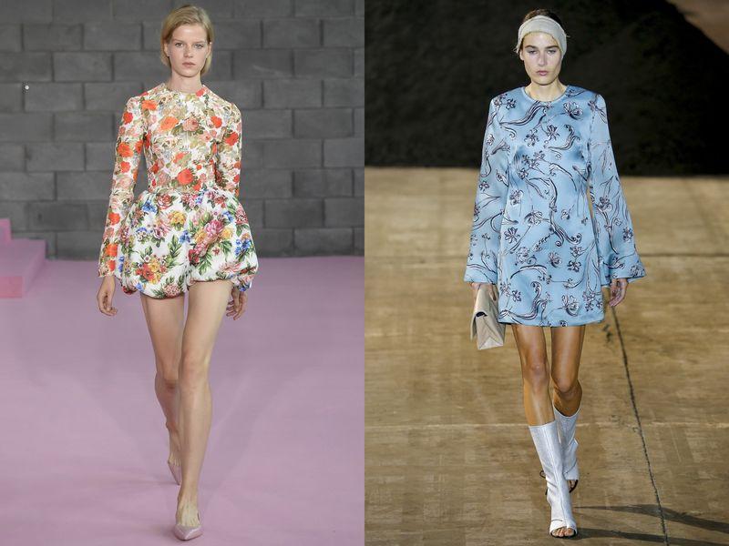 модные тенденции весна лето 2019 платья