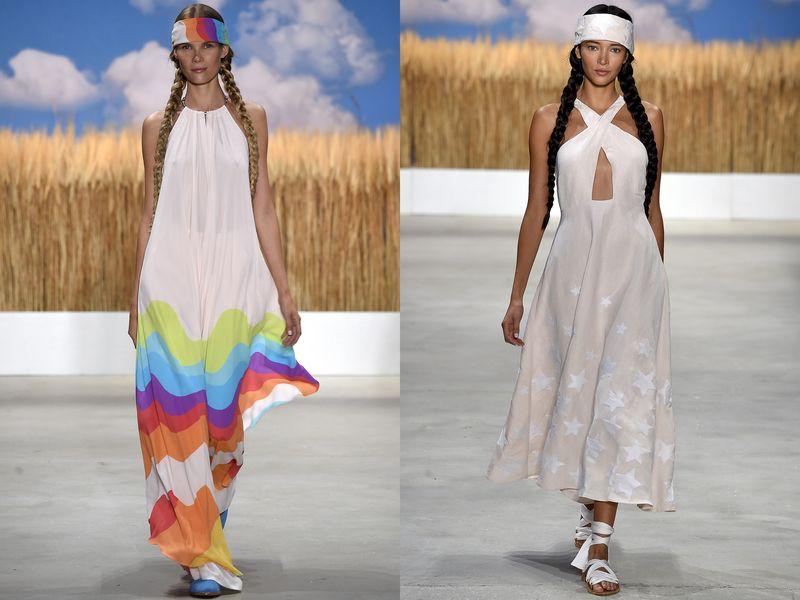модные платья весна лето 2019 года фото