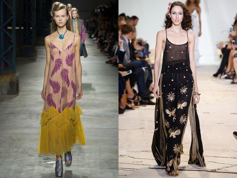 летние платья и сарафаны 2016 фото