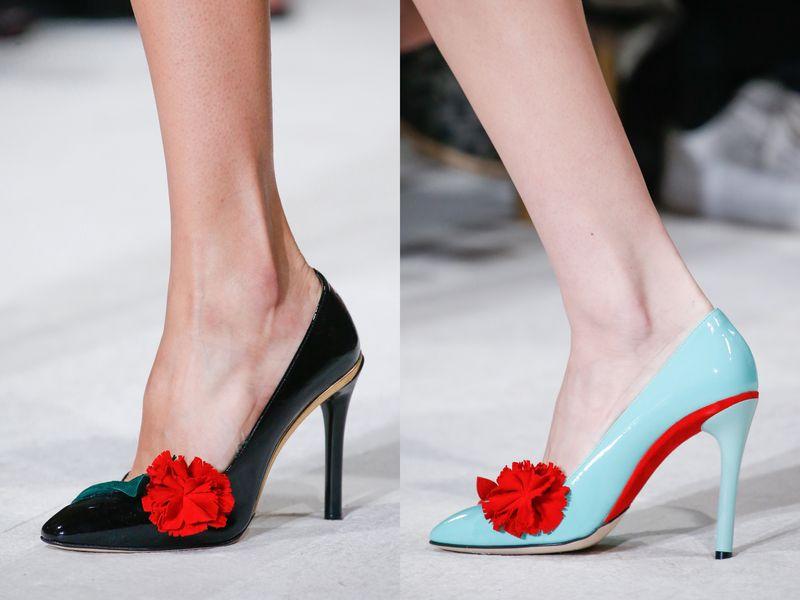 мода весна лето 2016 обувь фото
