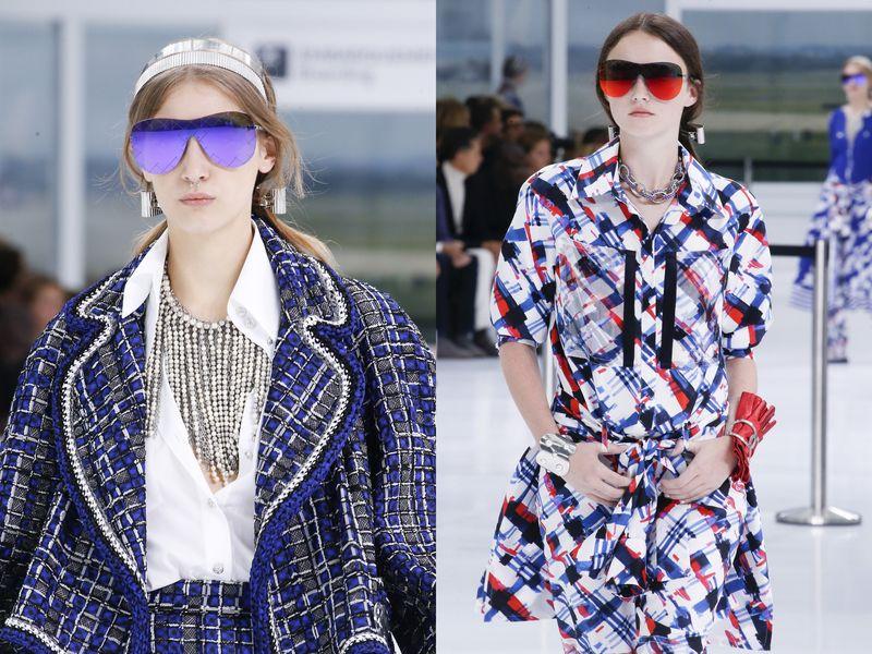 модные солнечные женские очки Chanel 2016