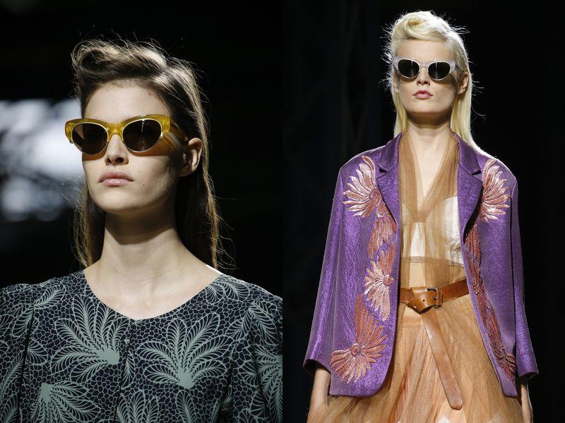 очки солнцезащитные женские брендовые Dries Van Noten 2016