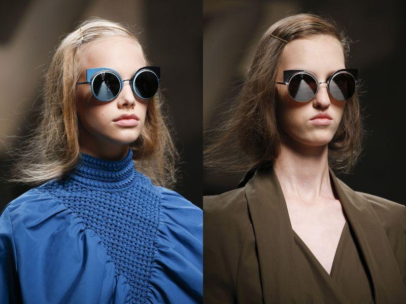 очки солнцезащитные женские брендовые Fendi 2016