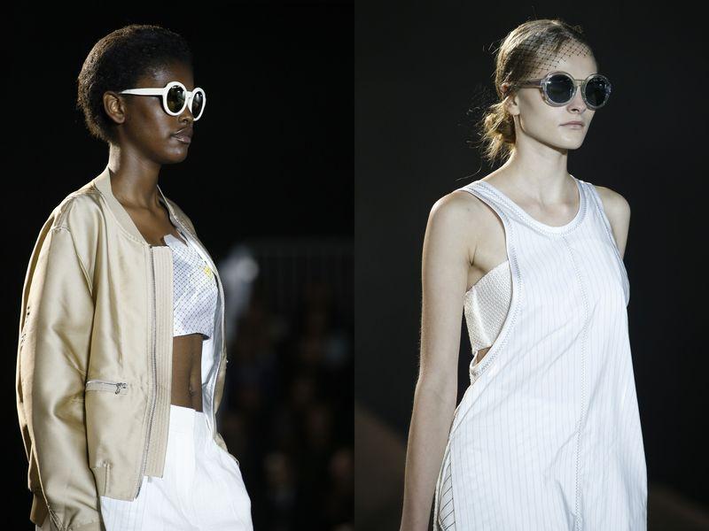 модные очки солнцезащитные 3.1 Phillip Lim 2016