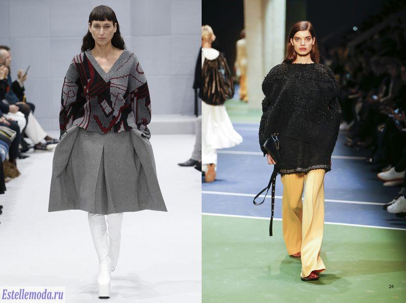 модные тенденции осень зима 2016 2017 фото