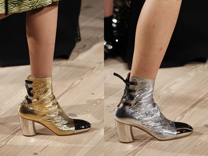 Какой цвет обуви в моде 2017