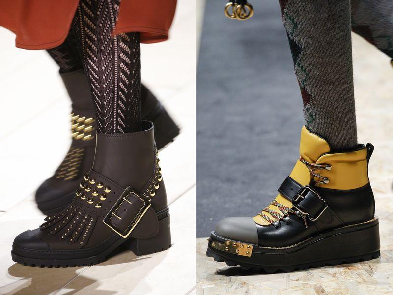 обувь осень 2016 года модные тенденции фото