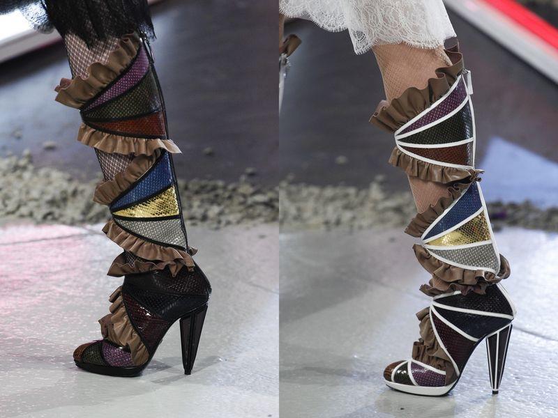 модная женская обувь осень зима 2016 2017 фото