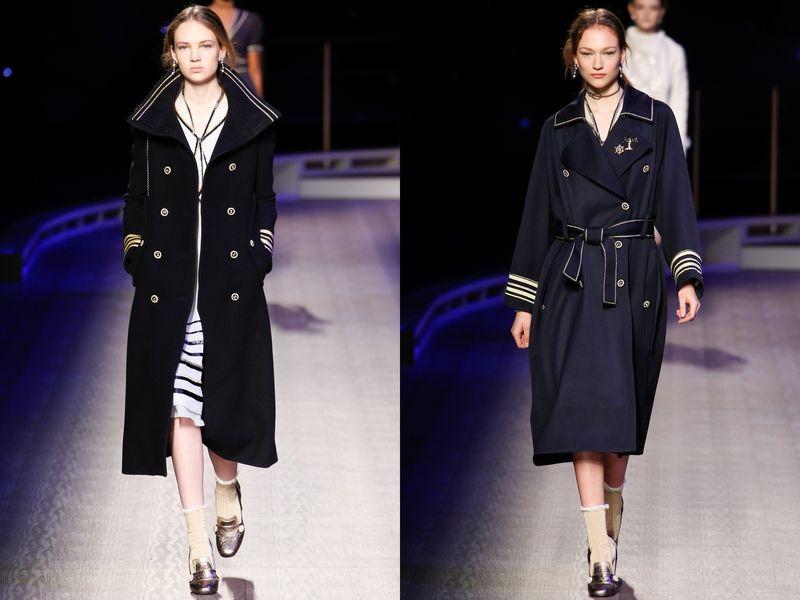 модное пальто в стиле милитари осень зима 2016 2017