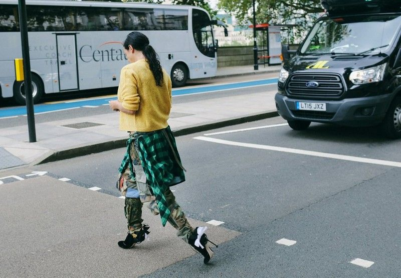 уличный стиль 2017