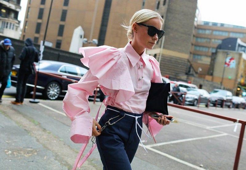 уличная мода весна-лето 2017