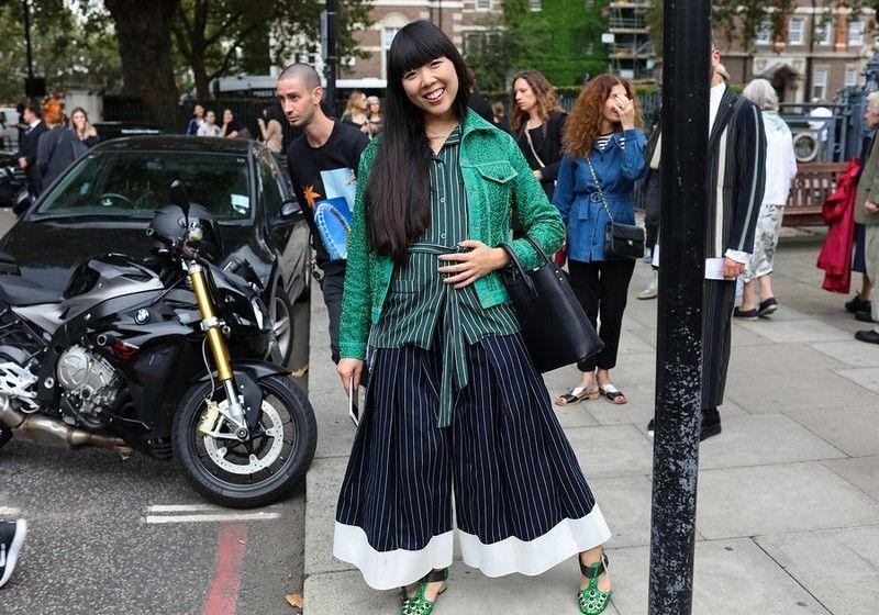 мода лондона весна лето 2017