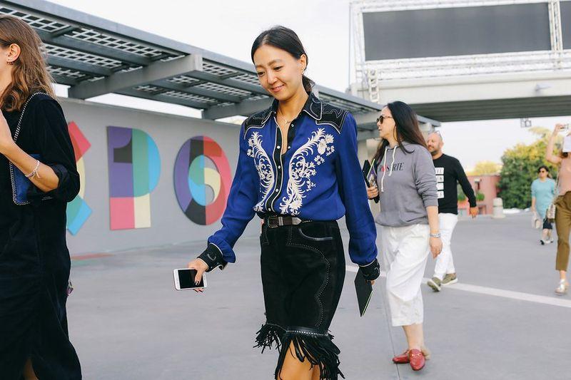 мода в милане 2017