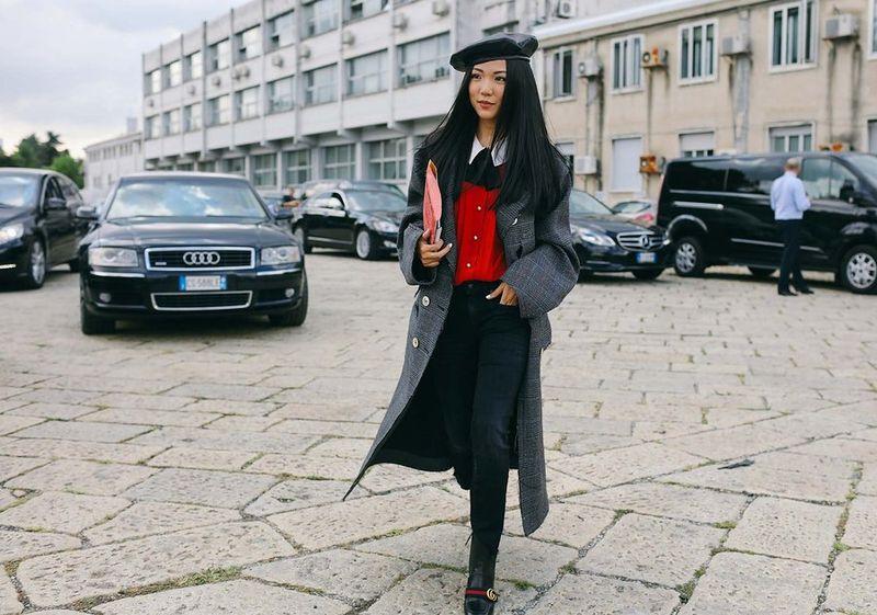 уличная мода милана 2017