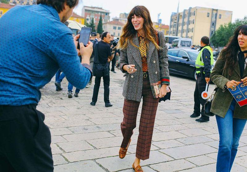 уличная мода милан