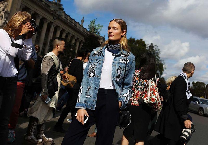 парижская мода весна 2017