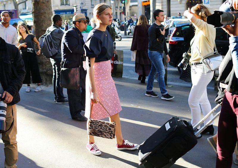 мода парижа весна лето 2017