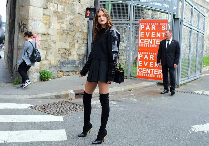мода парижа 2017