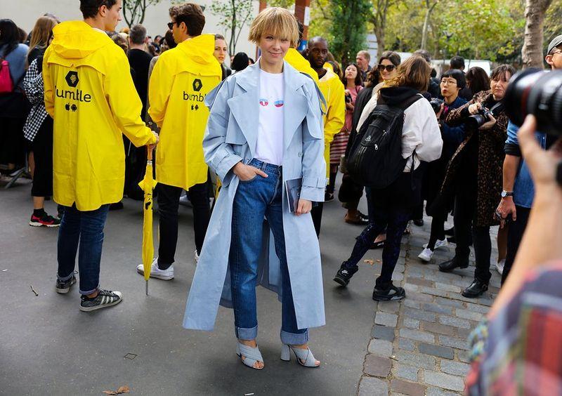 уличная мода париж