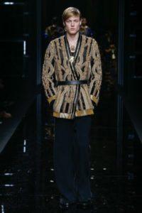 Показ мужской коллекции Balmain на Неделе моды в Париже, 2017