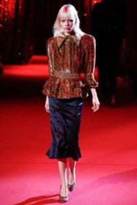 Показ новой весенне-летней коллекции Ulyana Sergeenko в Париже