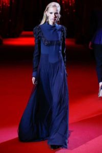Вечерние платья Ulyana Sergeenko на парижской неделе моды весна-лето 2017