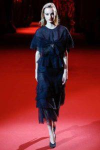 Показ российского бренда Ulyana Sergeenko на Неделе моды в Париже