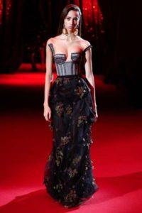 Платья Ульяны Сергеенко весна-лето 2017 на неделе моды в Париже